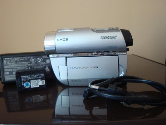 Bateria Sony Np-fh60+carregador+filmadora E Bolsa