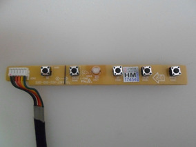 Placa Teclado Botão Monitor Aoc E2223pwd