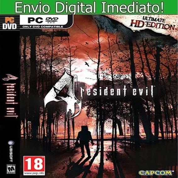 Residente Evil 4 Utimate Hd Pc Português Envio Imediato.