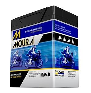 Bateria Moto Moura Cg 160 Fan 2016 Cg Titan 160 2016 Ma5d