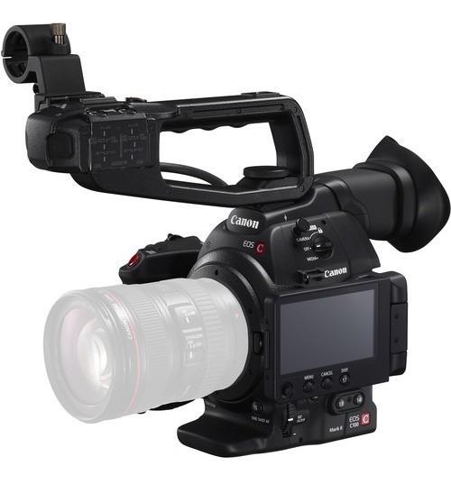 Câmera De Cinema Canon Eos C100 Mark Ii Dual Pixel Cmos