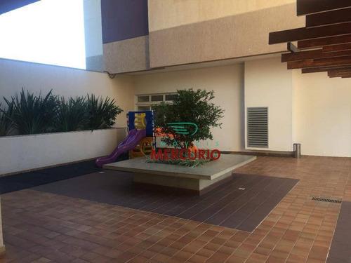 Apartamento Com 3 Dormitórios À Venda, 94 M² Por R$ 520.000,00 - Parque Jardim Europa - Bauru/sp - Ap2771