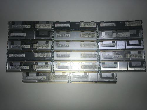 Imagem 1 de 4 de 4 X Memoria Servidor Ibm, Dell, Hp - 4gb 2rx4 Pc2 5300f