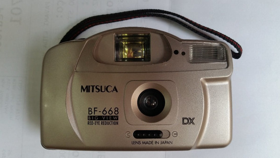 Câmera Fotográfica Mitsuca Dx Bf-668 - Perfeita