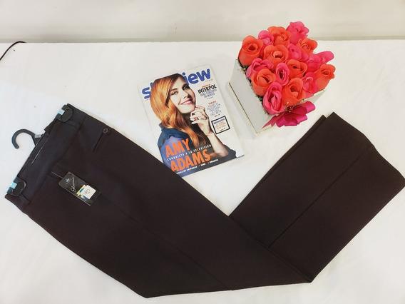 Pantalon De Vestir Negro Y Colores Marca Glamur Envio Gratis