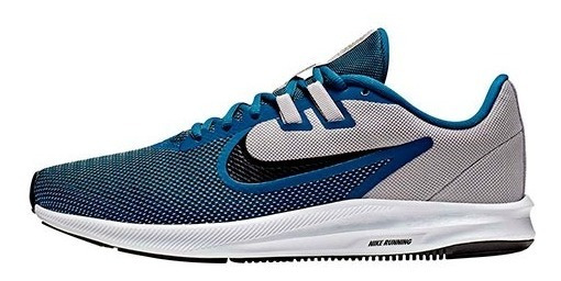 Tenis Nike Downshifter 9 Azul Tallas De #28 A #30 Hombre