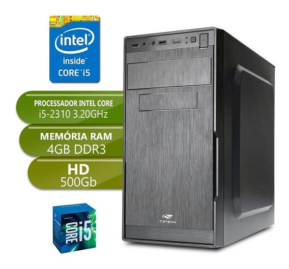 Computador I5 2310 Ddr3 4gb Hd 500gb Desktop Pc Cpu