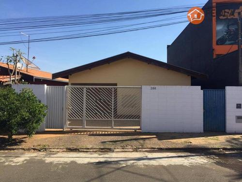 2 Casas Com 2 Dormitórios À Venda, 180 M² Por R$ 500.000 - Campo Limpo - Americana/sp - Ca0603