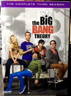 The Big Bang Theory The Complete Third Season Tercera Temp.