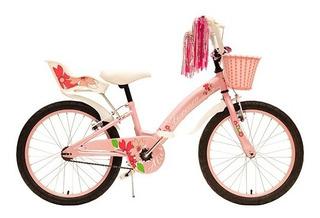 Bicicleta Infantil Fiorenza Alice Rodado 20 (guard. Canasto)