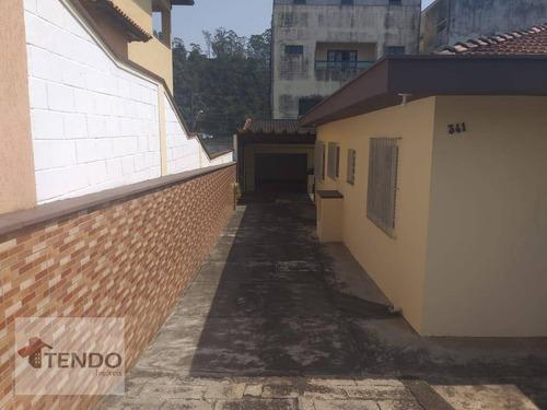 Imagem 1 de 30 de Imob03 - Casa Com 3 Dormitórios À Venda, 141 M² Por R$ 650.000 - Santana - Ribeirão Pires/sp - Ca0241