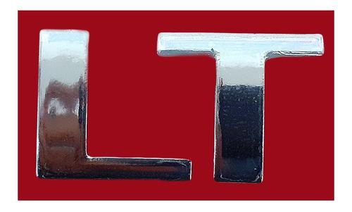 Logo Adeshivo En Letra Cromadas (lt) Para Prisma