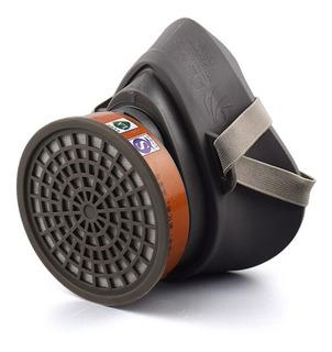 Mascara Anti-gas Anti-polvo Filtro Carbón