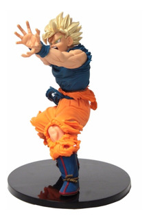 Figura Goku Super Sayayin Dragon Ball Z 17cms Kamehameha