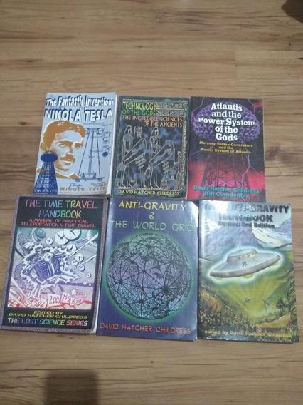 Pack Livros David Hatcher Childress Ancient Aliens Ufos Tech