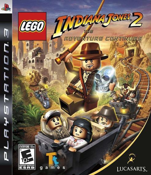 Lego Indiana Jones 2 Ps3 Cd Fisico Original Sellado Nuevo
