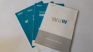 Manual De Usuario Nintendo Wii U Original