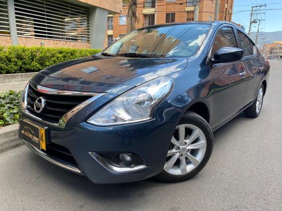Nissan Versa Advance 1.600cc M/t 2ab Fe 2016