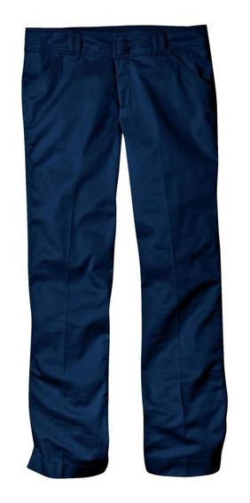 Dickies Kp7715 Pantalón Mujer Semi Acampanado Pretina Ancha