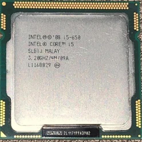 Processador Intel Core I5-650 Lga1156 3,06ghz/4m Oem