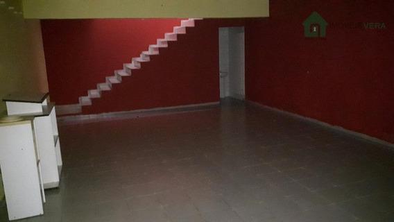 Salão Comercial Para Locação, Jardim Cultura Física, Embu Das Artes. - Sl0051