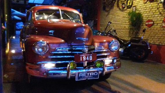Chevrolet 1948/ Fleetline 1948 Garagem Retrô