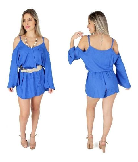 Macaquinho Gipsy Ciganinha Glamour Blogueira Moda