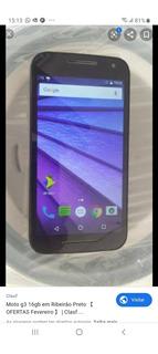 Celular Moto G3 16g