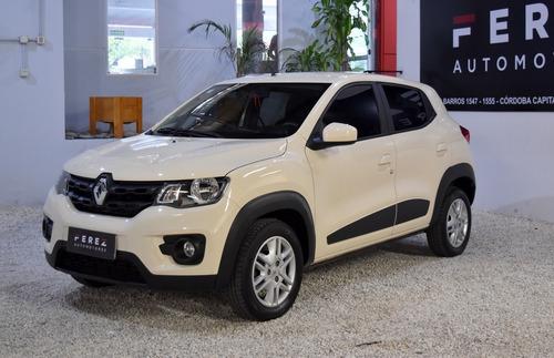 Renault Kwid Intens 1.0 Nafta 2018 Blanco Excelente Estado!!
