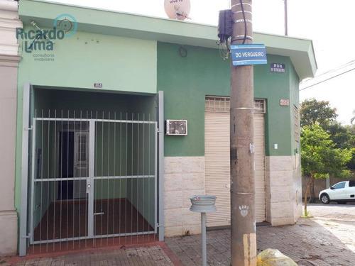 Imagem 1 de 14 de Casa À Venda, 355 M² Por R$ 800.000,00 - Centro - Piracicaba/sp - Ca1236