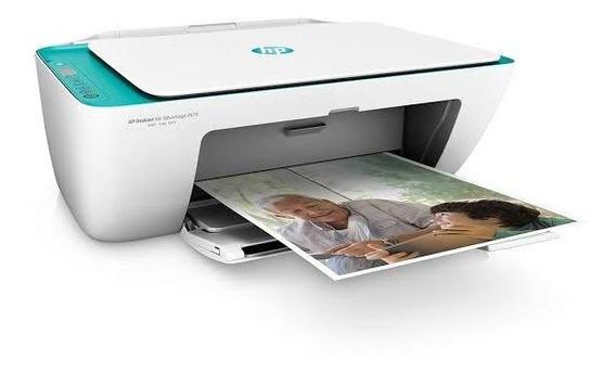 Impressora Hp 2676 Completa. + Um Cartucho Colorido
