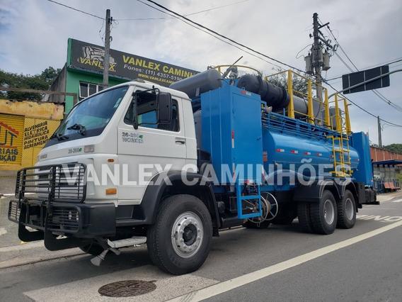 Vw 26260 6x4 Pipa Lubrificador Comboio Ñ Atron 2729 2423k