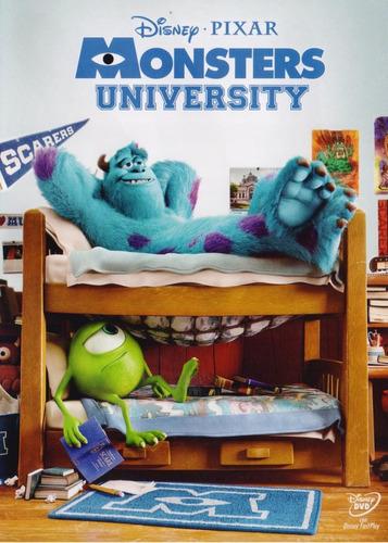 Monsters University Disney Pixar Pelicula Dvd