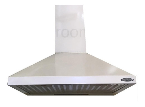 Campana Cocina Piramide 60 Blanco Motor Turbo Envio Gratis