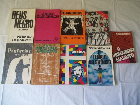 Livro Neimar De Barros Lote Com 10 Títulos Veja Pelas Fotos