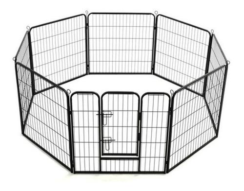 Imagen 1 de 6 de Corral Para Perros 8 Paneles 76x60cm De Alto C/u Mas Envio