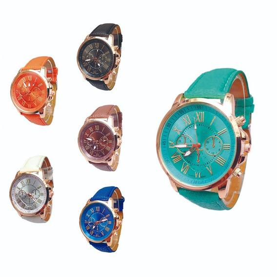 Coleção De 6 Relógios De Pulso Feminino Frete Grátis