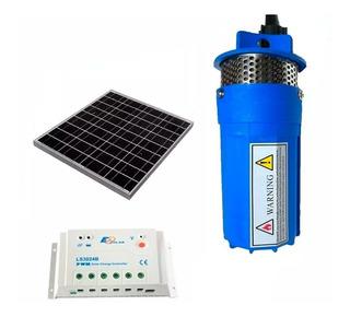 Kit Bomba Sumergible + Panel Solar De 150 Watts + Regulador De 20a 1500 Litros/día