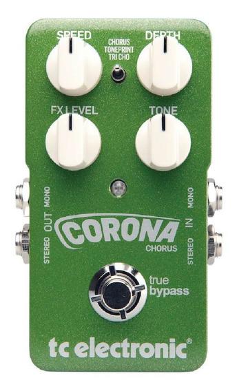 Pedal Para Guitarra Chorus Corona Tc Electronic