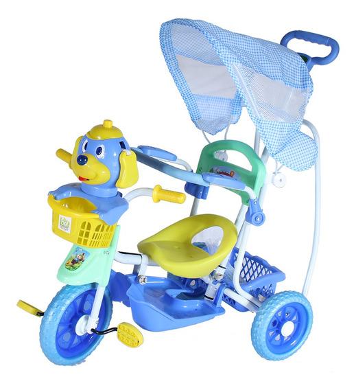 Triciclo Capota 2 Em 1 Vira Gangorra Belfix - 910600