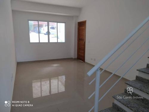 Imagem 1 de 15 de Casa À Venda, Com 3 Dormitórios À Venda, 125 M² Por R$ 570.000 - Villa D Este - Granja Viana - Cotia/sp - Ca1908