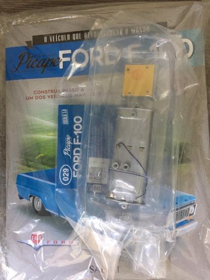 Fascículo Coleção Salvat Picape Ford F100 F-100 Número 31