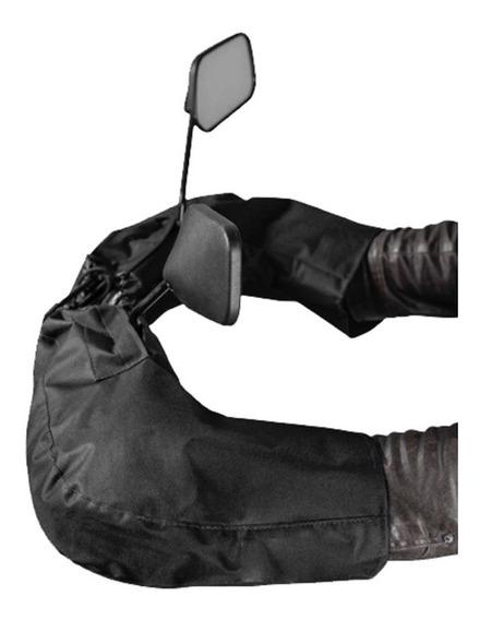 Luva De Guidão Protetor De Mão Universal Impermeável Preta