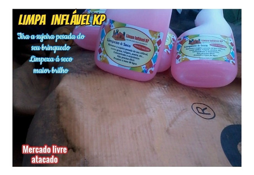 Imagem 1 de 10 de Limpa Kp1000 Brinquedos Infláveis Kit C/02 Borrifador 500ml.