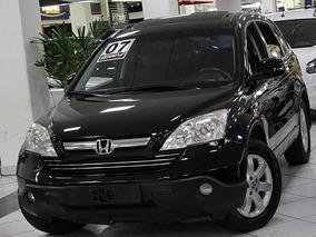 Honda Cr-v 2.0 Ex 4x4 Automatico 2007 Teto Solar Preto
