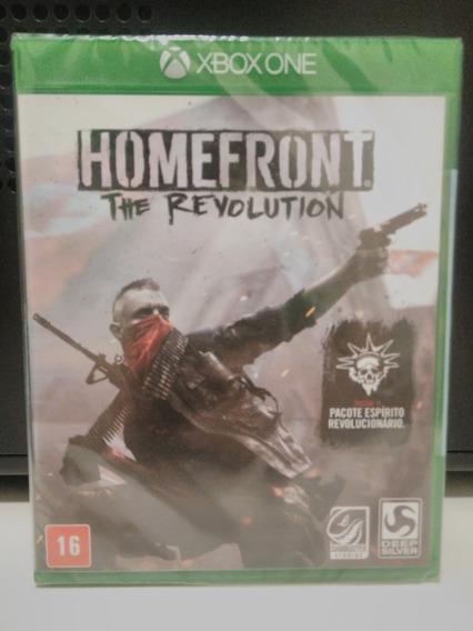 Homefront The Revolution Microsoft Xbox One X Novo Lacrado