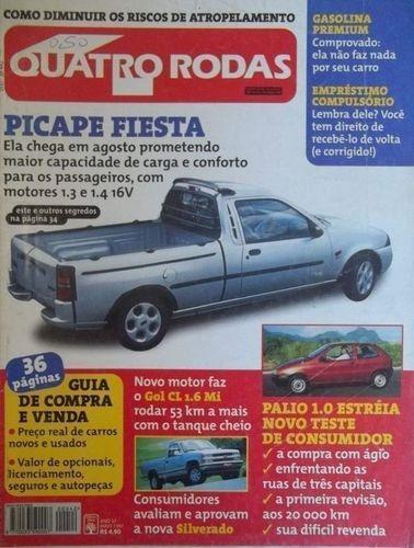 Revista Quatro Rodas Ano 37 Nº 442