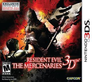 Juego Nintendo 3ds Resident Evil Mercenarios - Refurbished