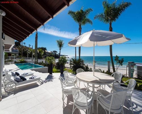 Casa Para Venda Frente Para O Mar Em Bombinhas, Sc. 805 M² Construídos Em Um Terreno De 1.254 M²! - Ca00056 - 68296271