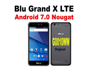 Software Original Blu Grand X Lte G0030